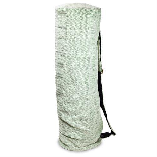 Bolsa de Yoga de Algodón Verde 65x19cm