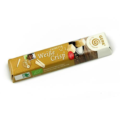 Chocolatina Blanco Crisps Bio 45g