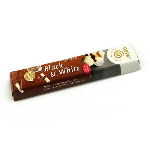 Chocolatina Blanco y Negro 45g