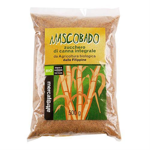 Mascobado Azúcar de Caña Integral Altromercato Bio 500g