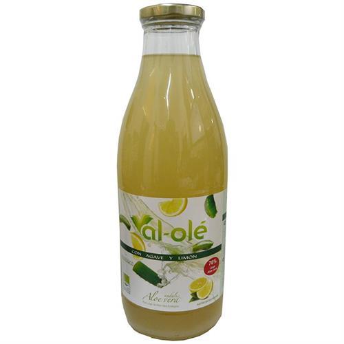 Zumo Premium de Aloe Vera con Agave y Limón Al Olé Bio 1L
