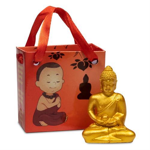 Buda de la Meditación en Bolsa de Regalo 5,3cm
