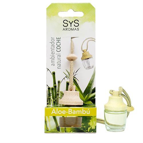 Ambientador Natural para Coche Aloe Bambú SYS 7ml
