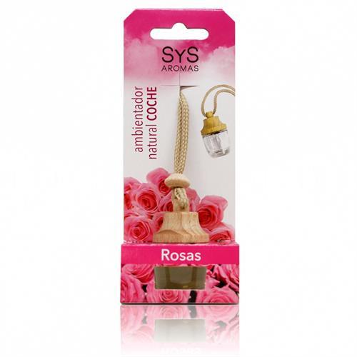 Ambientador Natural para Coche Rosas SYS 7ml