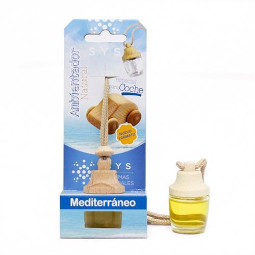 Ambientador Natural para Coche Mediterraneo SYS 7ml