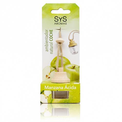 Ambientador Natural para Coche Manzana Ácida SYS 7ml