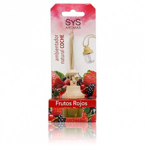 Ambientador Natural para Coche Frutos Rojos SYS 7ml