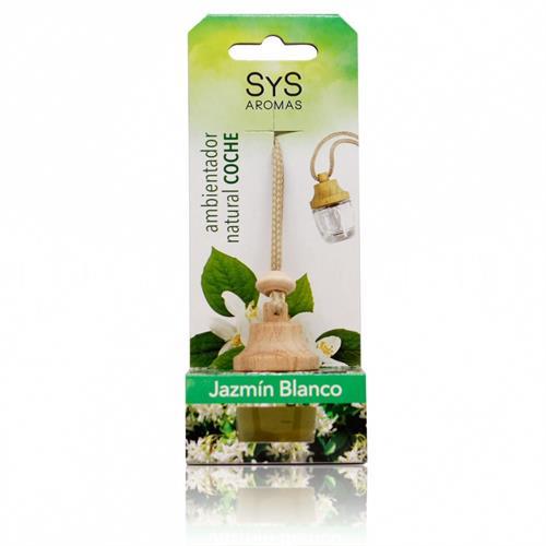 Ambientador Natural para Coche Jazmin Blanco SYS 7ml