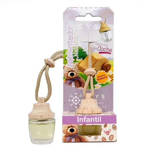 Ambientador Natural para Coche Infantil SYS 7ml