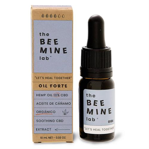 Aceite de Cáñamo Orgánico Forte CBD 10% The Bee Mine Lab 10ml