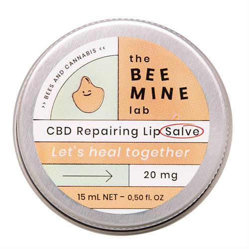 Bálsamo Labial con CBD de Cáñamo The Bee Mine Lab 15ml