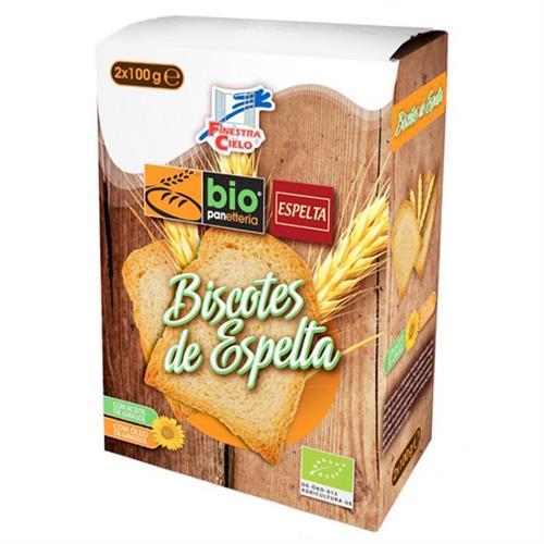 Biscotes de Espelta Bio 200g