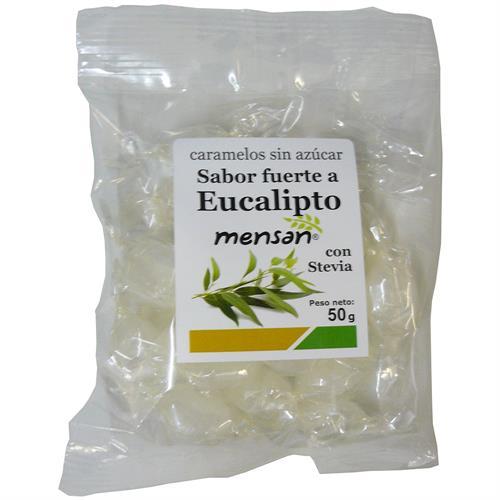 Caramelos de Eucalipto con Stevia Mensan 50g