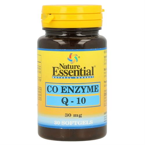 CoEnzima Q10 Nature Essential 30 Perlas de 30mg