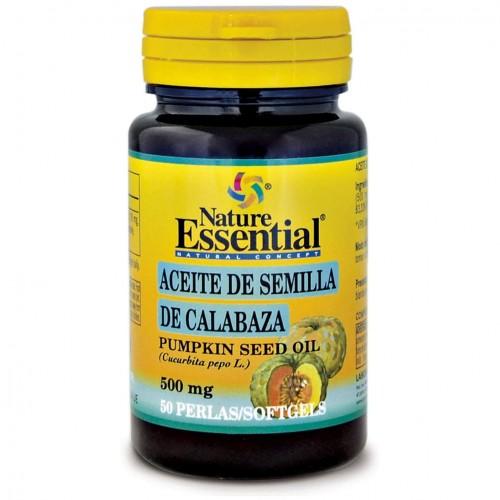 Aceite de Semillas de Calabaza Nature Essential 50 Perlas de 500mg