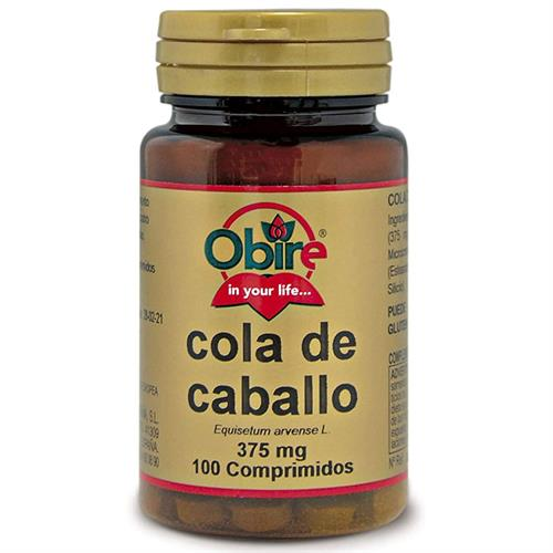 Cola de Caballo Obire 100 Comp de 375mg