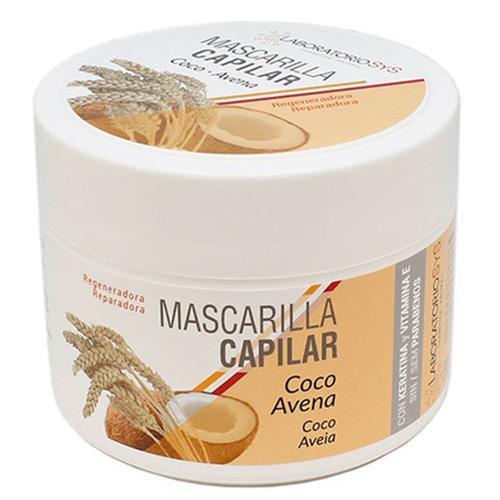 Mascarilla Capilar de Coco y Avena con Keratina SYS 250ml