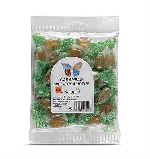 Caramelos de Miel y Eucalipto Naturcid 100g