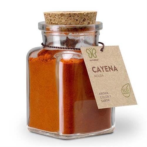 Cayena Molida con Chili Gourmet Naturcid Bio 75g