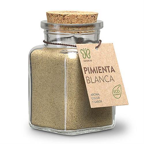 Pimienta Blanca Molida Gourmet Naturcid Bio 80g