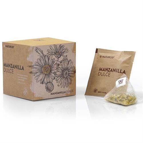 Manzanilla Dulce Naturcid Bio 10 Pirámides