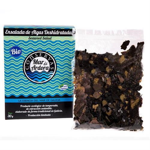 Ensalada de Algas Deshidratadas Bio Mar de Ardora 30g