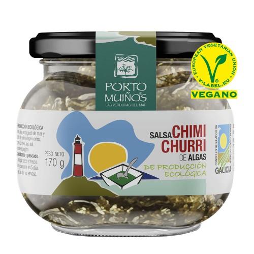 Salsa Chimichurri de Algas PortoMuiños Bio 170g