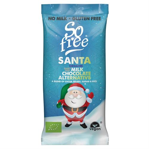 Santa de Chocolate Sin Gluten So Free Bio 20g