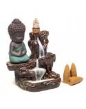 Quemador de Incienso de Cascada Pequeño Buda