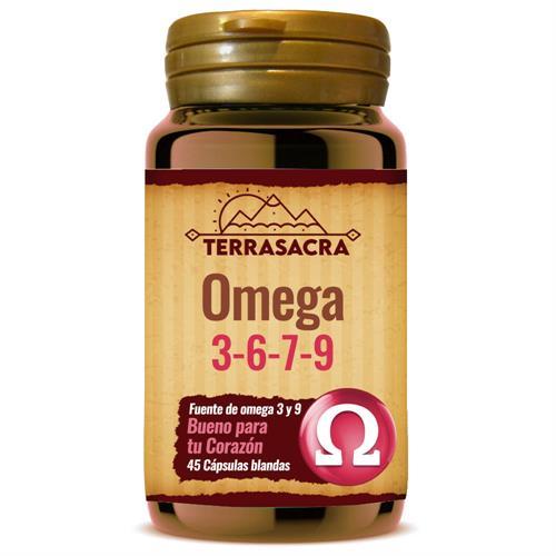 Omega 3-6-7-9 Terrasacra 45 Perlas