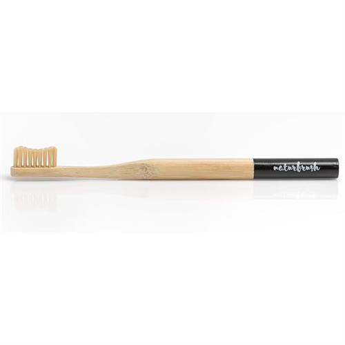 Cepillo Dental de Bambú Adultos Negro Naturbrush