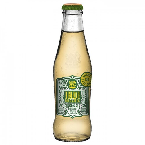 Refresco de Jengibre Ginger Ale Premium Indi & CO Bio 200ml