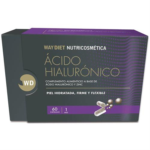 Ácido Hialurónico Nutricosmética WayDiet 60 Cápsulas