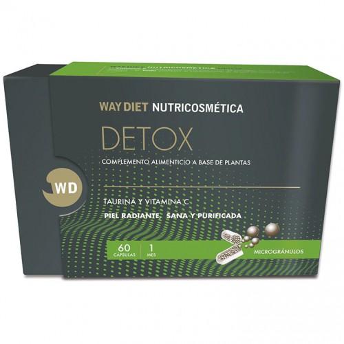 Detox Nutricosmética WayDiet 60 Cápsulas