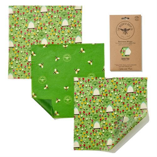 Wrap de Cera de Abeja Pack 3 Merienda Tierra