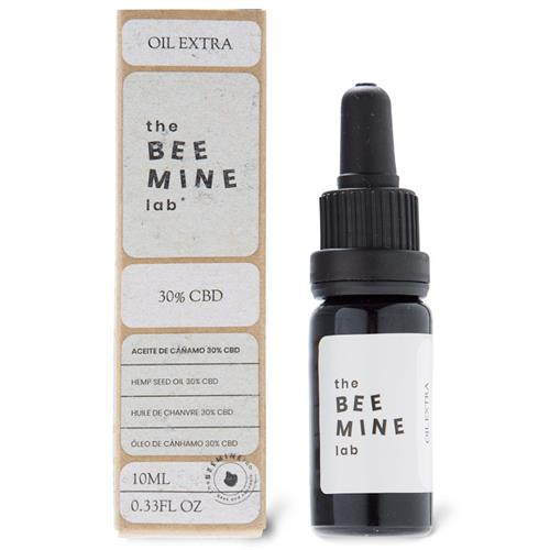 Aceite de Cáñamo Orgánico Extra Forte CBD 30% The Bee Mine Lab 10ml