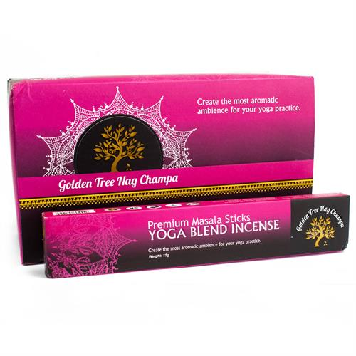 Incienso Yoga Blend Golden Tree