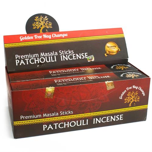 Incienso Patchouli Golden Tree