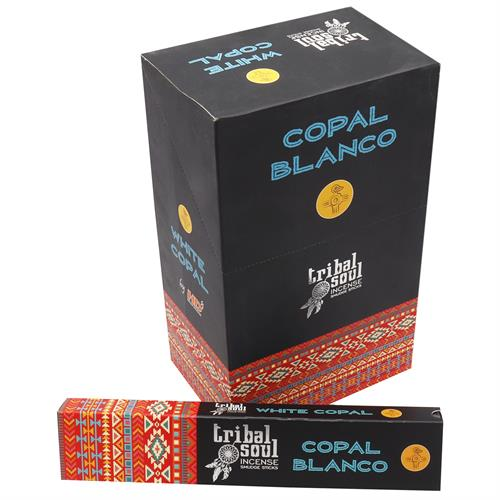 Incienso de Copal Blanco Tribal Soul