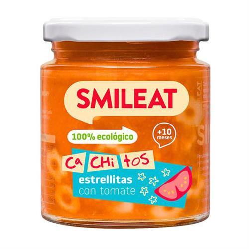 Potito Smileat Cachitos de Estrellitas con Tomate Bio 230g