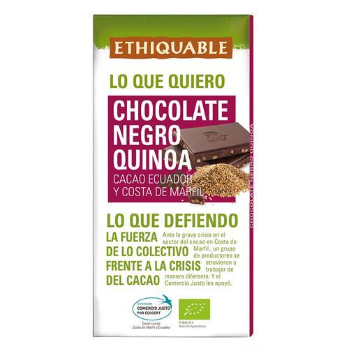 Chocolate Negro con Quinoa Bio 100g