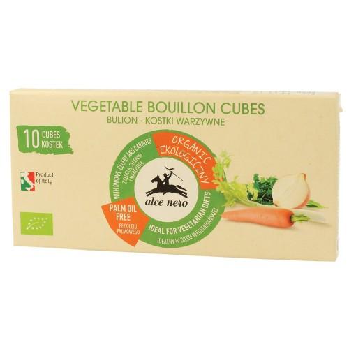 Cubitos de Caldo Vegetal Bio Alce Nero 100g