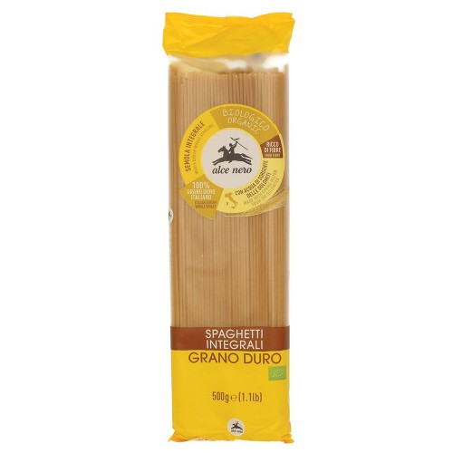 Espaguetis de Trigo Duro Integral Bio 500g