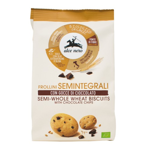 Galletas Semi Integrales con Pepitas de Chocolate Bio 250g
