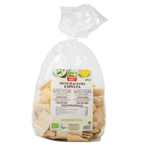 Mini Crackers 100% Espelta Bio 250g