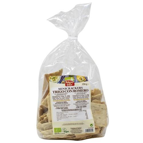 Mini Crackers de Trigo con Romero Bio 250g