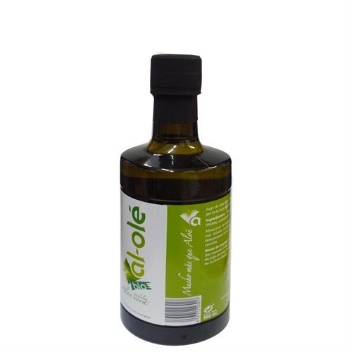 Jugo de Aloe Vera Ecológico en Botella de Cristal Al Olé Bio 500ml