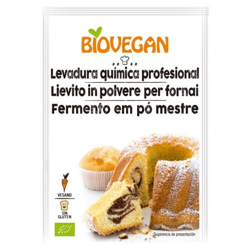 Levadura para Reposteria Biovegan Bio 3x17g