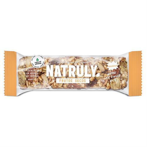 Barrita Crunchy de Frutos Secos Bio 40g