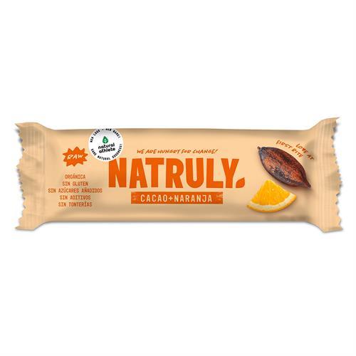 Barrita Raw de Cacao y Naranja Bio 40g